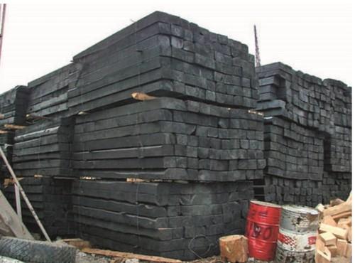 Строительство из шпал технология